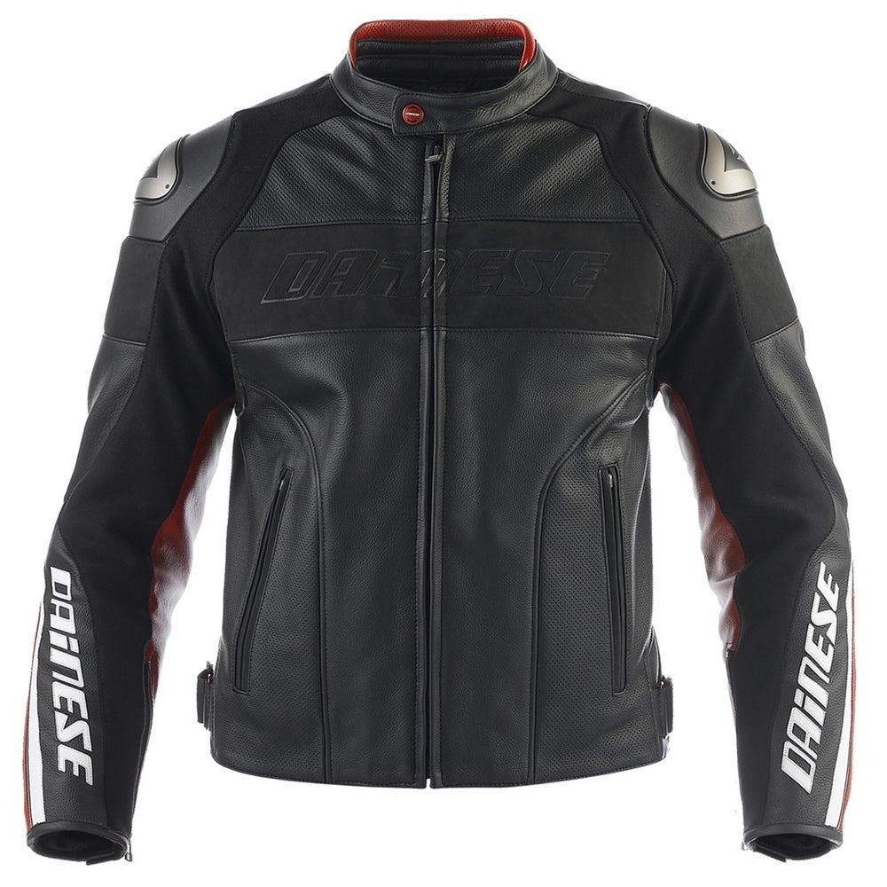 Dainese Alien Leather Jacket - Black