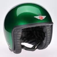 Davida Jet Standard Cosmic Candy Helmet - Green