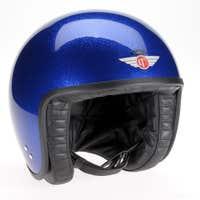 Davida Jet Standard Cosmic Flake Helmet - Blue