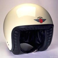 Davida Jet Standard Helmet - Cream / Black
