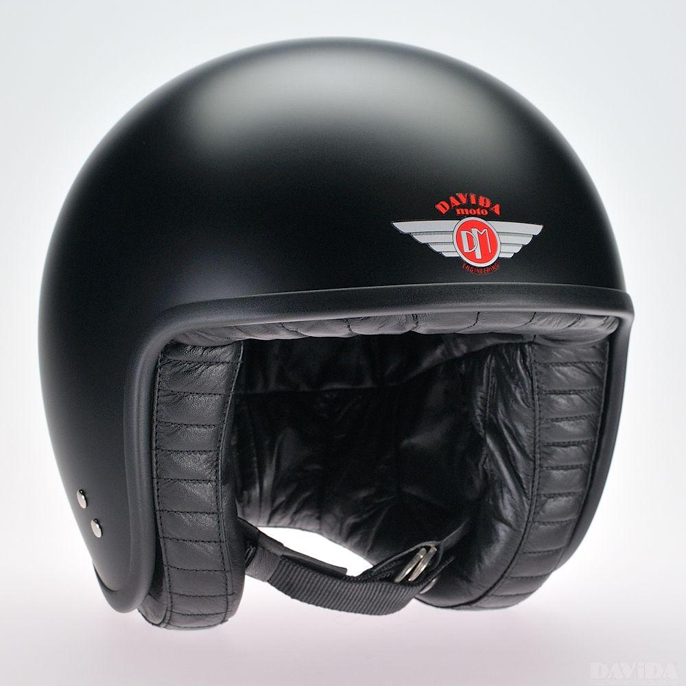 Davida Jet Standard Helmet - Matt Black