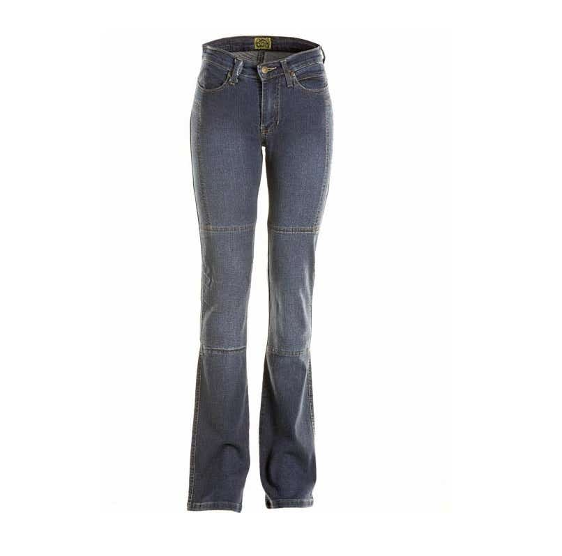 Draggin Ladies' Skins Kevlar Jeans - Blue