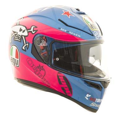AGV K3 SV Helmet - Guy Martin - Left