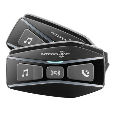Interphone U-COM 16 Bluetooth Mesh Intercom - Dual