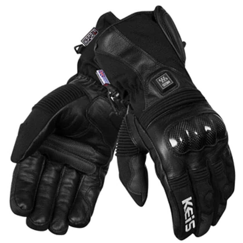 KEIS G501 HEATED PREMIUM OUTER GLOVES