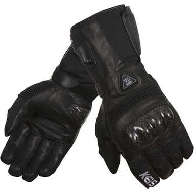 KEIS G502 HEATED SPORT GLOVES: BLACK