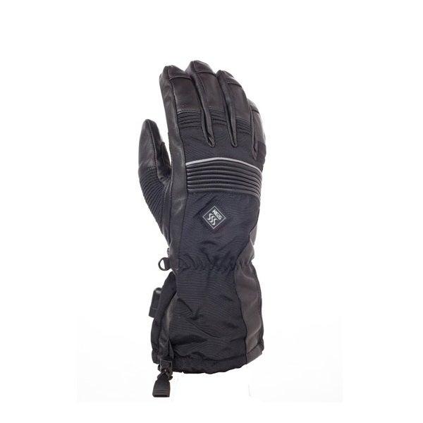 Keis X900 Dual Power Heated Motorcycle Gloves - Black