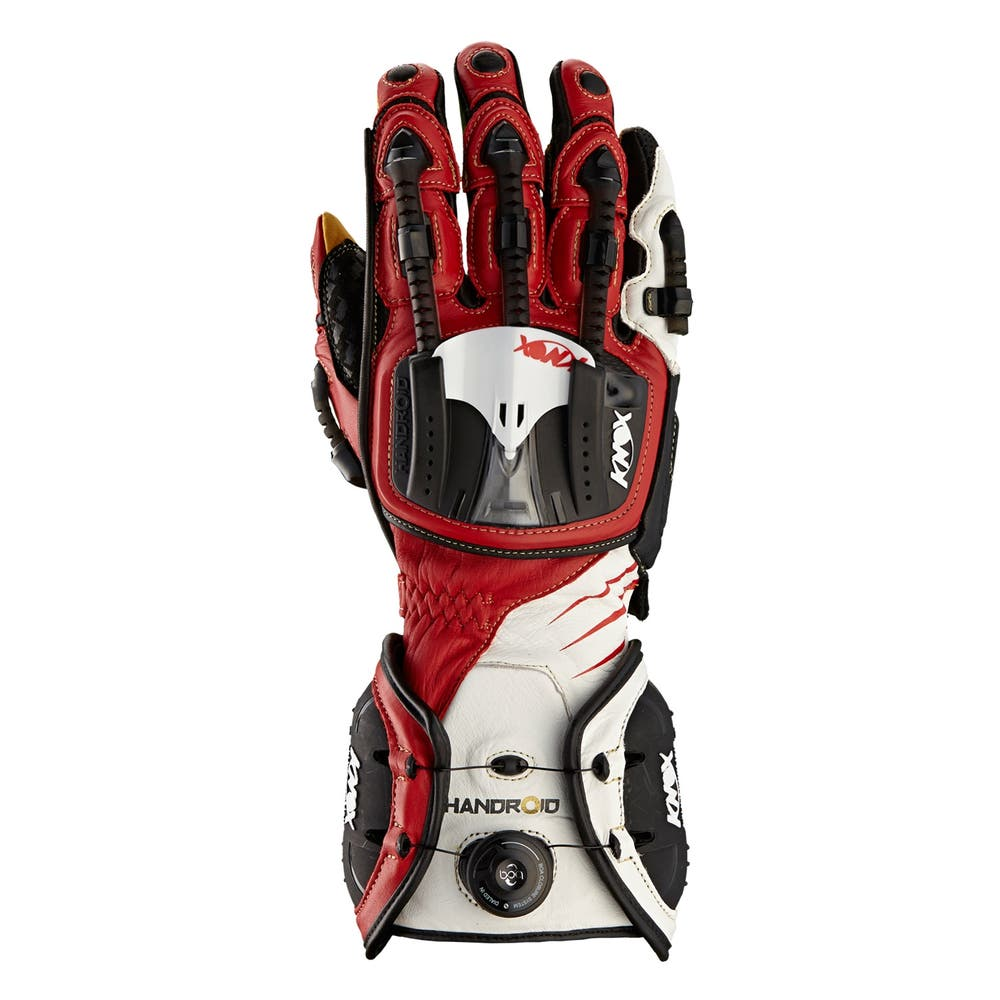 Knox Handroid Pod Gloves - Red