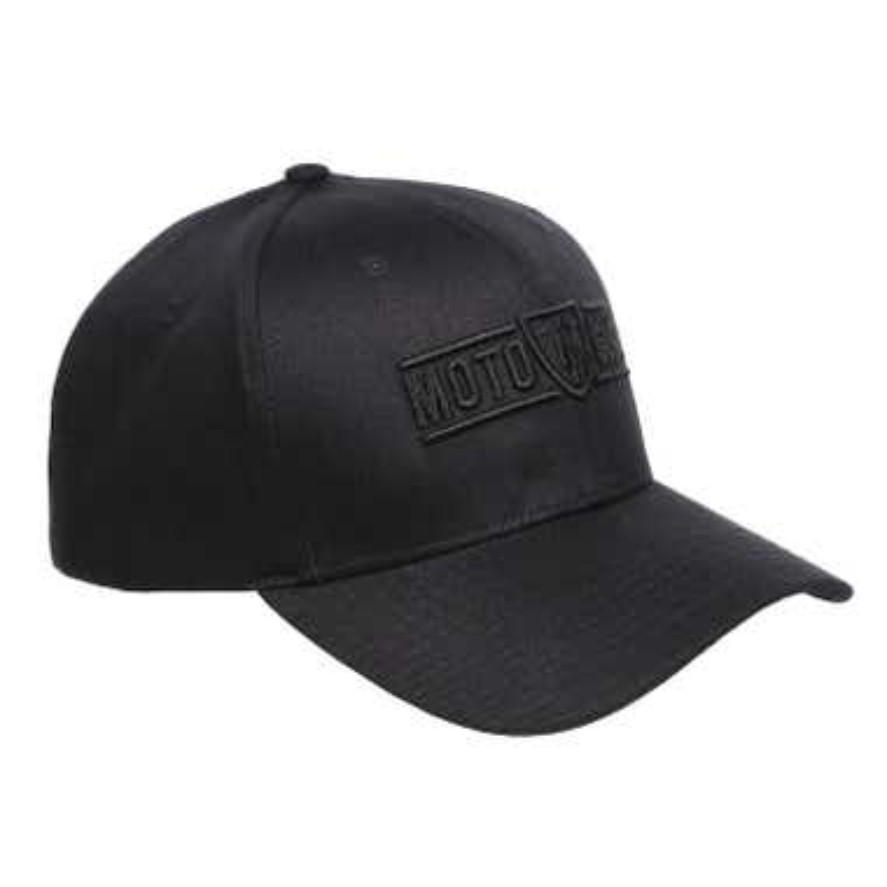 MOTOGIRL LOGO CAP BLACK