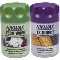 Nikwax TX Direct Wash-In/Tech Wash Cleaner 300ml Twin Pack