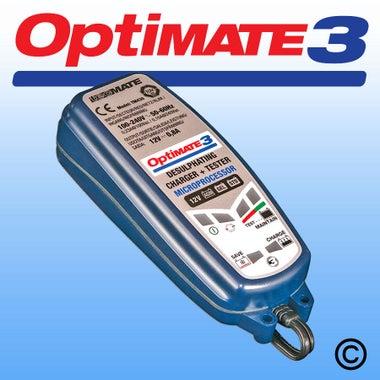 Optimate 3+ 12V Charger & Tester