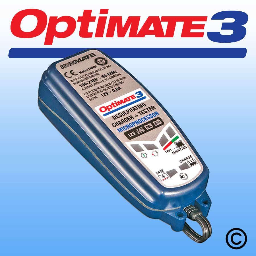 Optimate 3 12V Charger & Tester