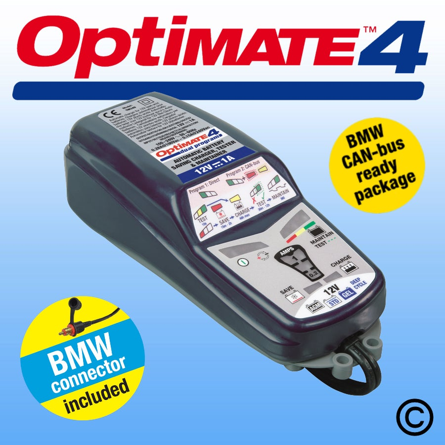 Optimate 4 BMW with CAN-bus