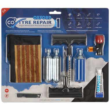 OXFORD CO2YRE REPAIR1 M'CYCLE TYRE KIT