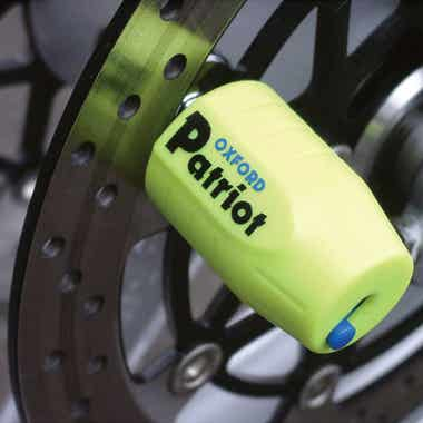 OXFORD PATRIOT DISC LOCK-EXTENDED PIN
