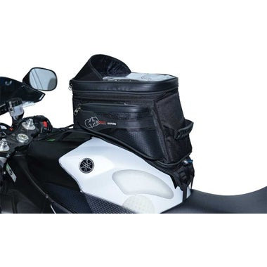 OXFORD S20R ADVENTURE STRAP ON TANK BAG - BLACK