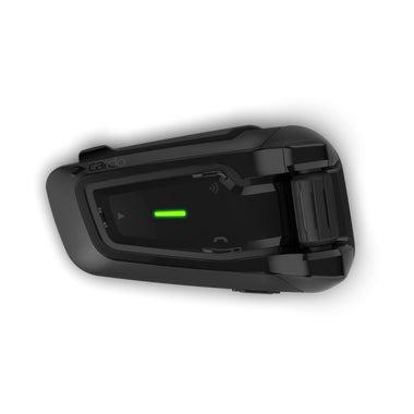 Cardo Packtalk Black Edition Single Motorcycle Bluetooth Communication