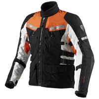 Rev'it Sand 2 Textile Jacket - Black / Orange