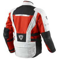 Rev'it Sand 2 Textile Jacket - Silver / Red