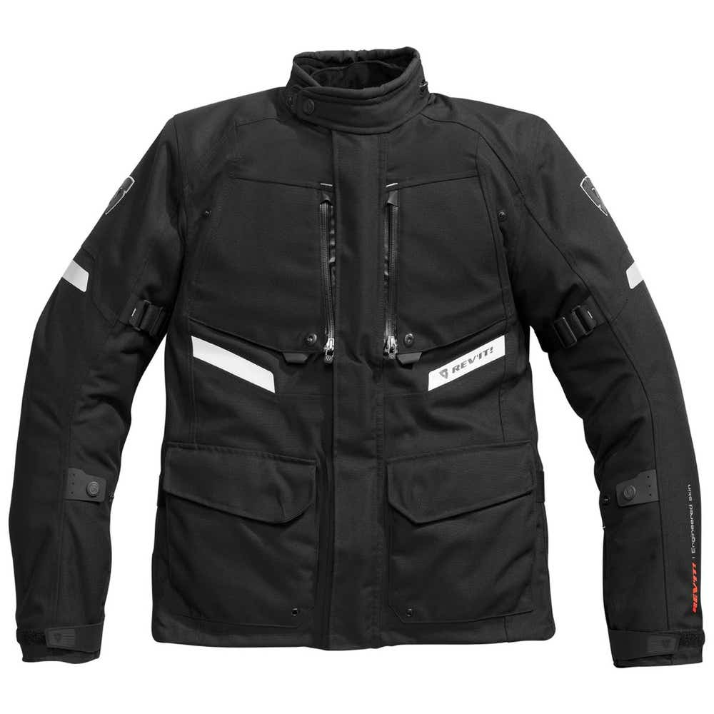 Rev'it Unisex Horizon Waterproof Jacket - Black
