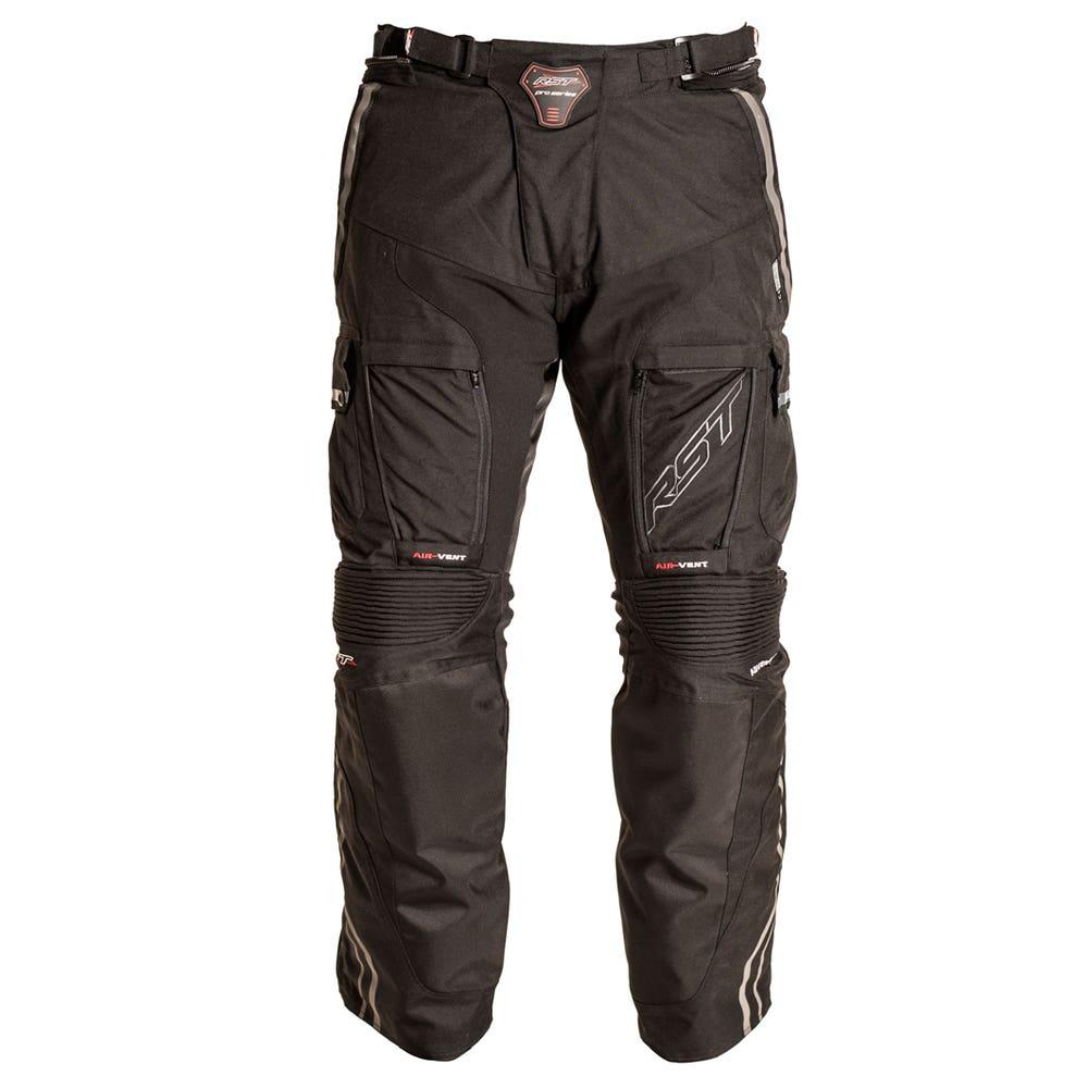 RST Pro Series Adventure II Waterproof Trousers - Short - Black