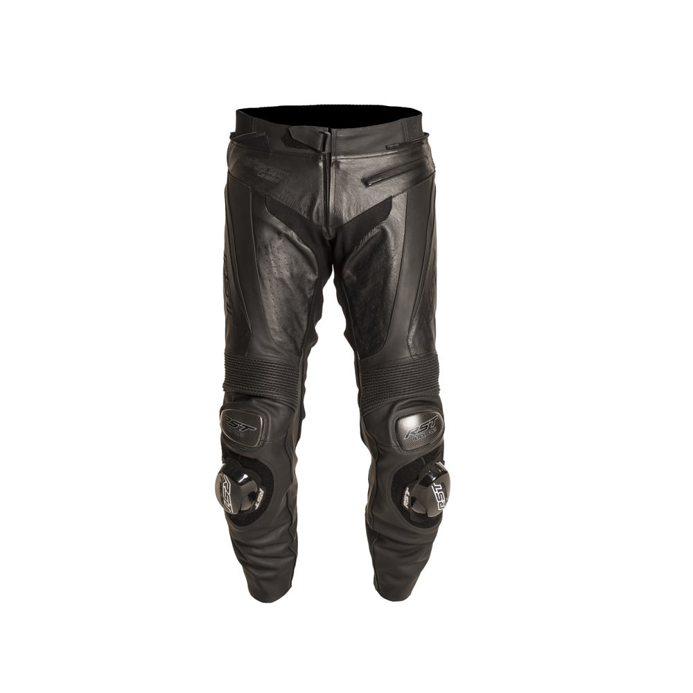 RST Black Series Leather Trousers - Black