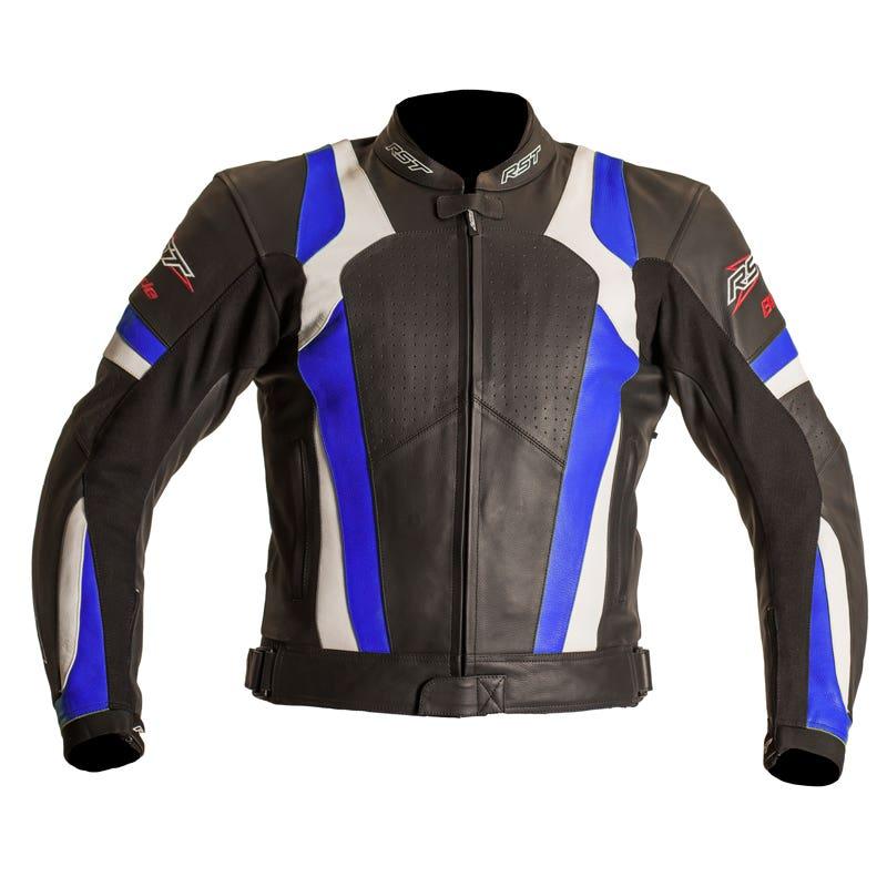 RST Blade Leather Jacket - Blue