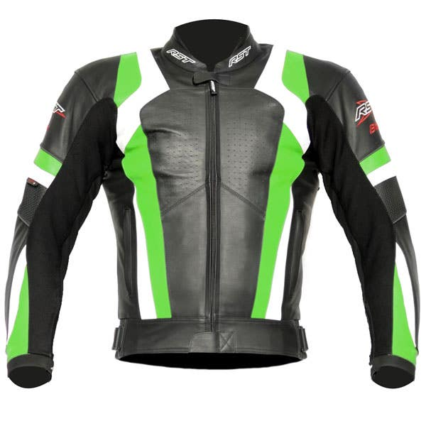RST Blade Leather Jacket - Green