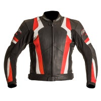 RST Blade Leather Jacket - Red