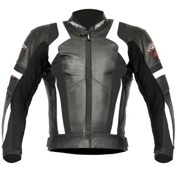 RST Blade Leather Jacket - White