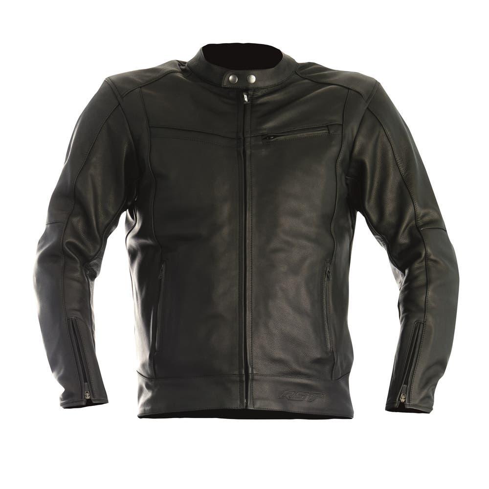 RST Interstate II Leather Jacket - Black