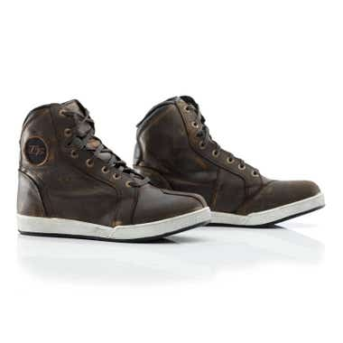 RST IOM TT CROSBY LEATHER BOOTS