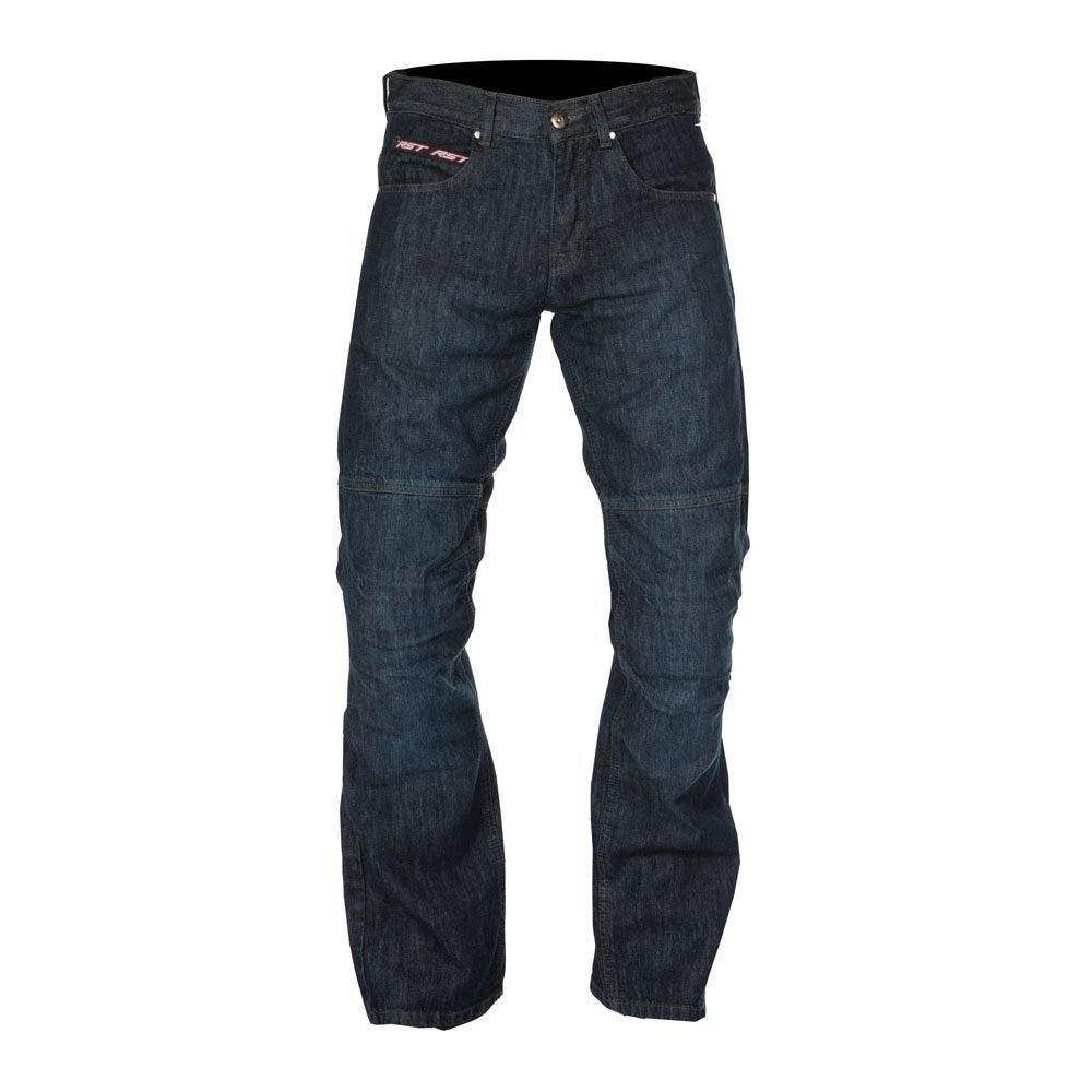 RST Ladies' Denim Motorcycle Jeans - Short - Blue