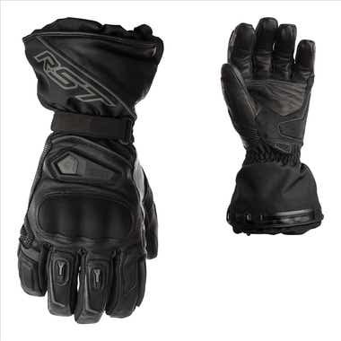 RST Paragon Heated CE Waterproof Leather Gloves