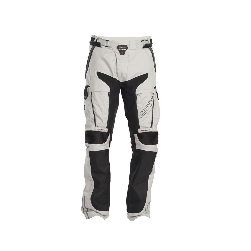 RST Pro Series Adventure II Waterproof Trousers - Black / Silver