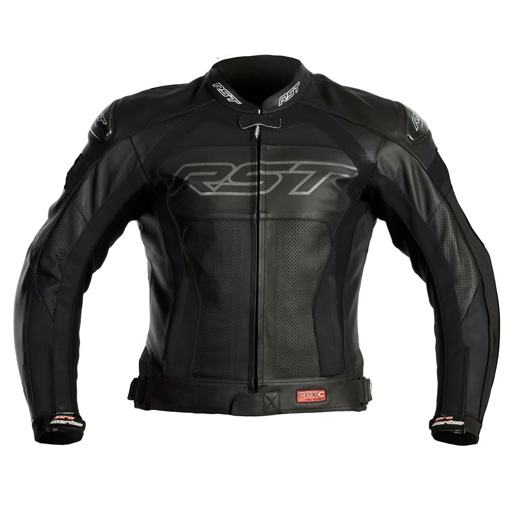 RST Pro Series CPX-C Leather Jacket - Black
