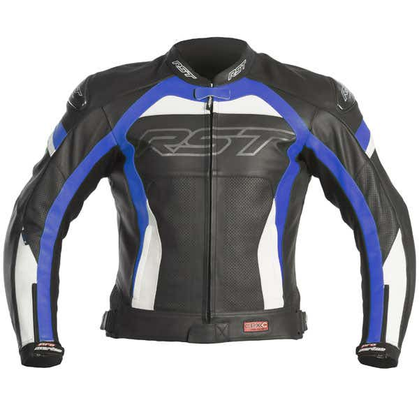 RST Pro Series CPX-C Leather Jacket - Blue