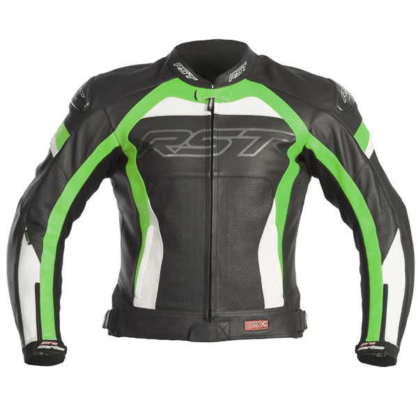 RST Pro Series CPX-C Leather Jacket - White