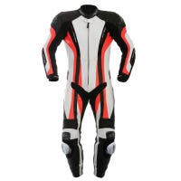 RST Pro Series CPX-C One Piece Leather Suit - Fluoro Red