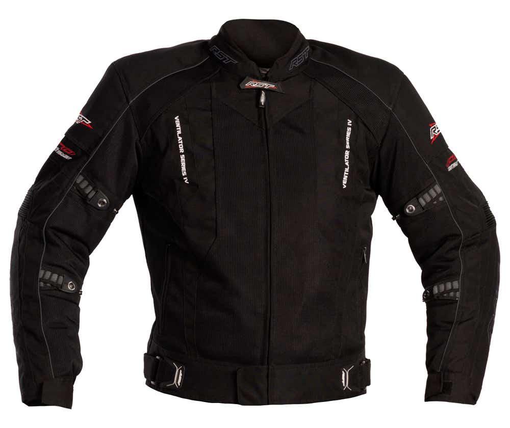 RST Pro Series Ventilator IV WP Waterproof Jacket - Black