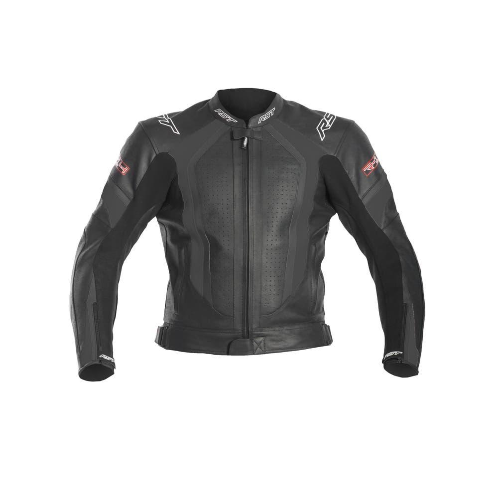 RST R-14 Leather Jacket - Black