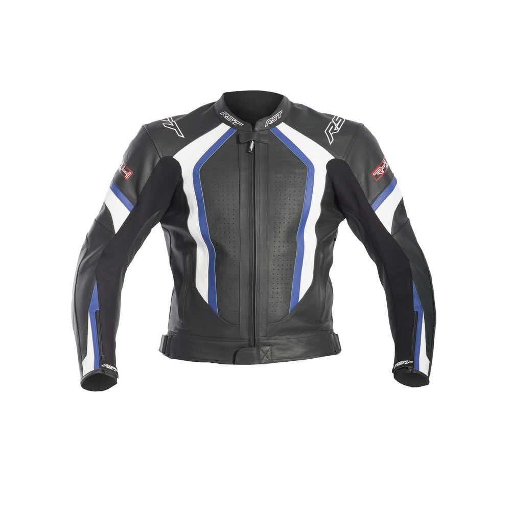 RST R-14 Leather Jacket - Blue