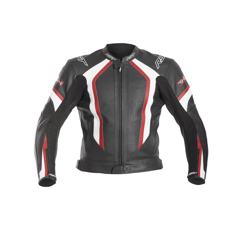 RST R-14 Leather Jacket - Red