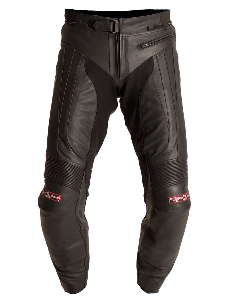 RST R-14 Leather Trousers - Black
