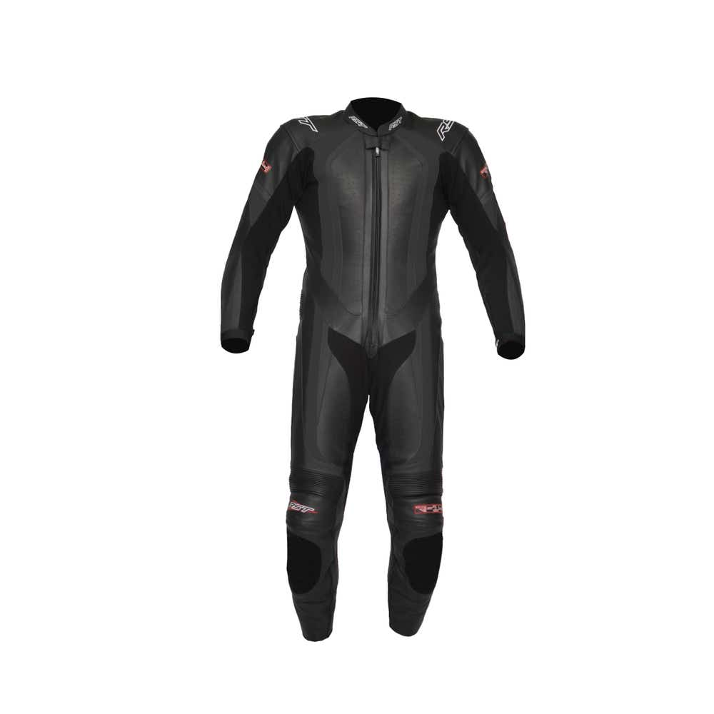 RST R-14 One Piece Leather Suit - Black