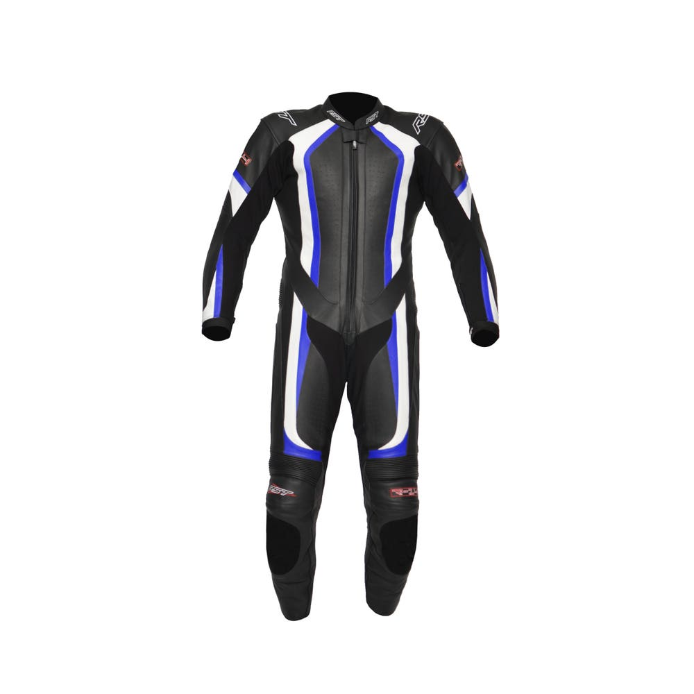 RST R-14 One Piece Leather Suit - Blue