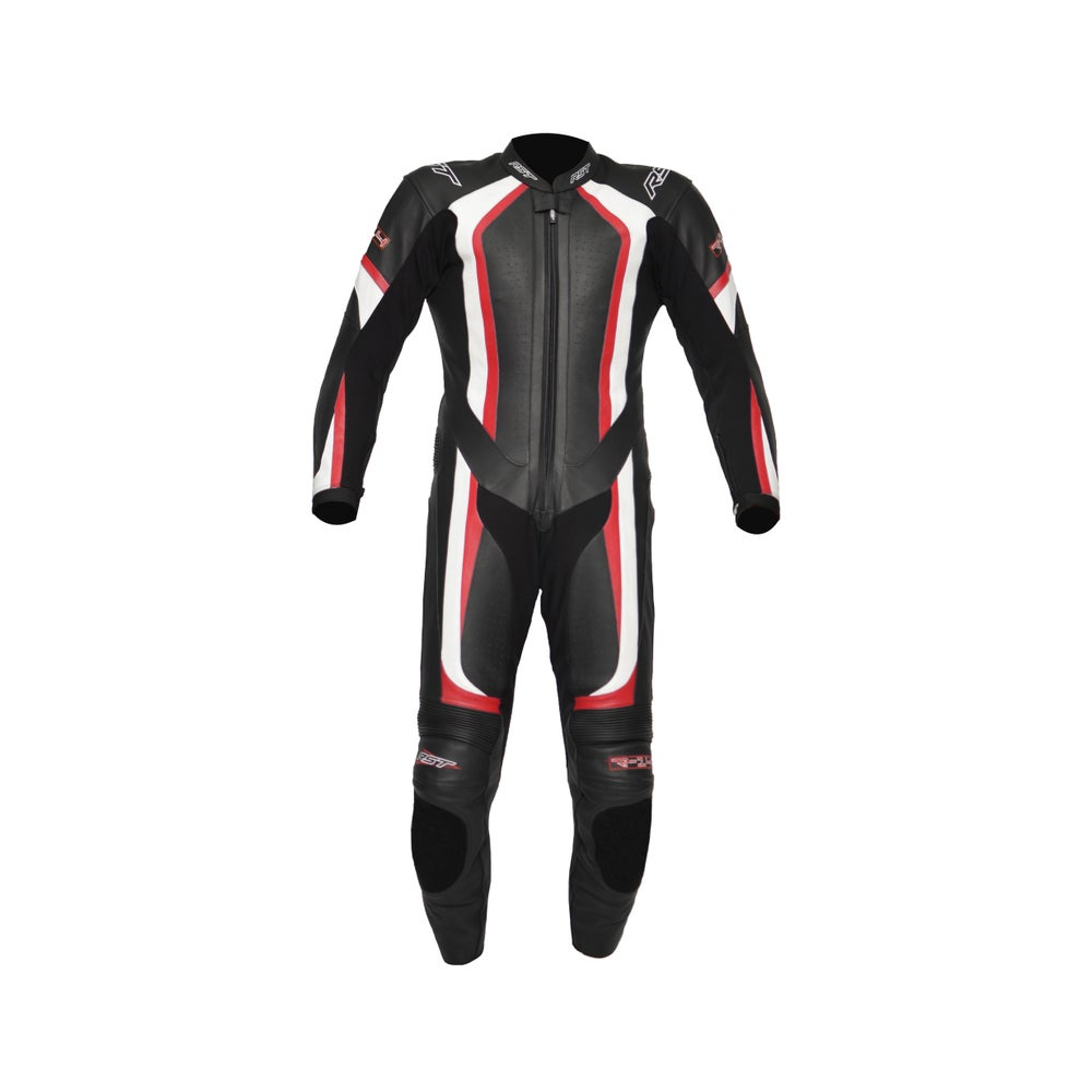 RST R-14 One Piece Leather Suit - Red