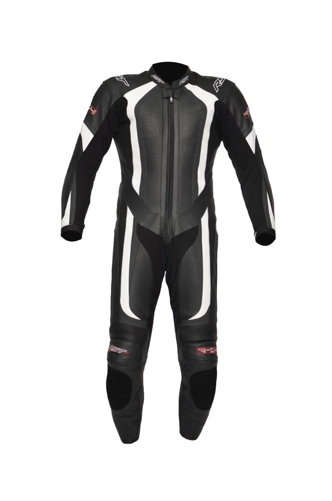 RST R-14 One Piece Leather Suit - White
