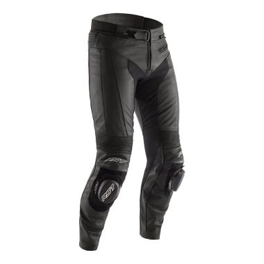 RST R-SPORT CE MENS LEATHER TROUSERS - SHORT