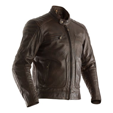RST ROADSTER II CE MENS LEATHER JACKET